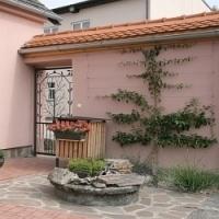 Zahrady na dvoře vesnického statku…