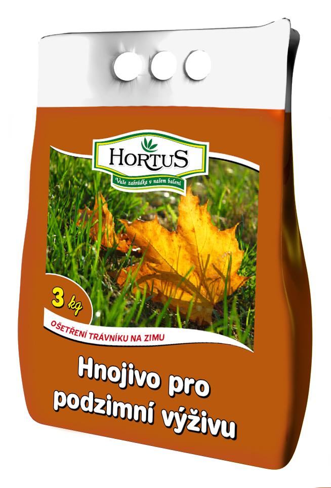 Hnojivo pro podzimní výživu 3kg