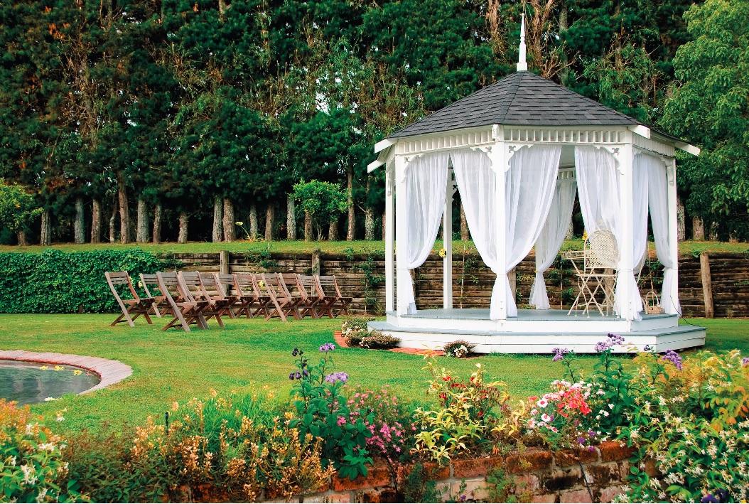 Svatba - záhon