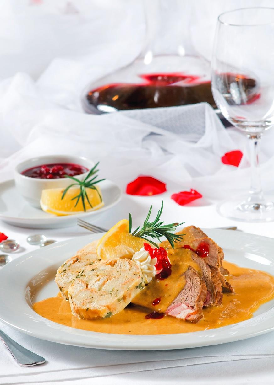 Svatební menu - Svíčková