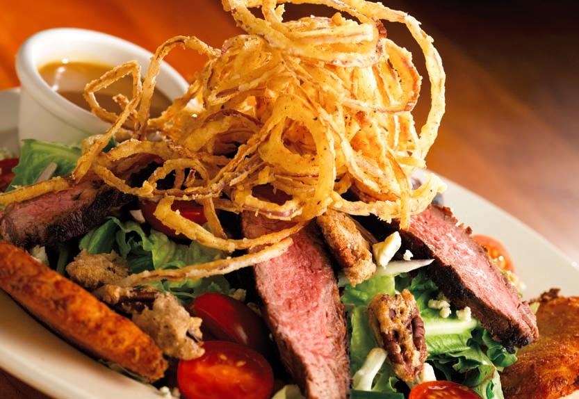 Salát s hovězím steakem