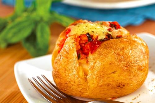 Recepty - brambora pečená