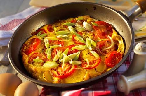 Recepty - omeleta