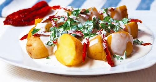 Recepty - salát brambory