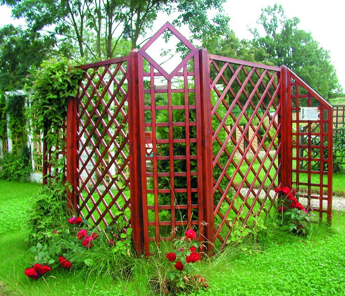 Sestava dekorativních mříží