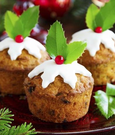Vánoční cupcaky