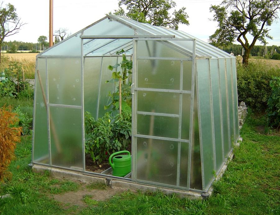 I malý skleník postačí rodinu zásobovat chutnou a zdravou zeleninou