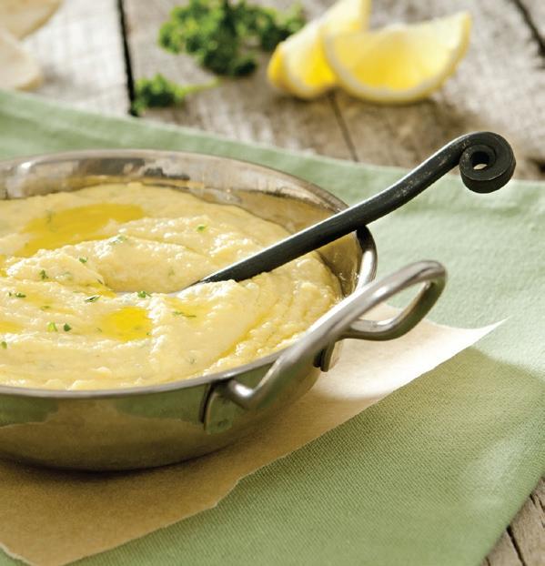 Hummus - pasta z rozmačkané cizrny