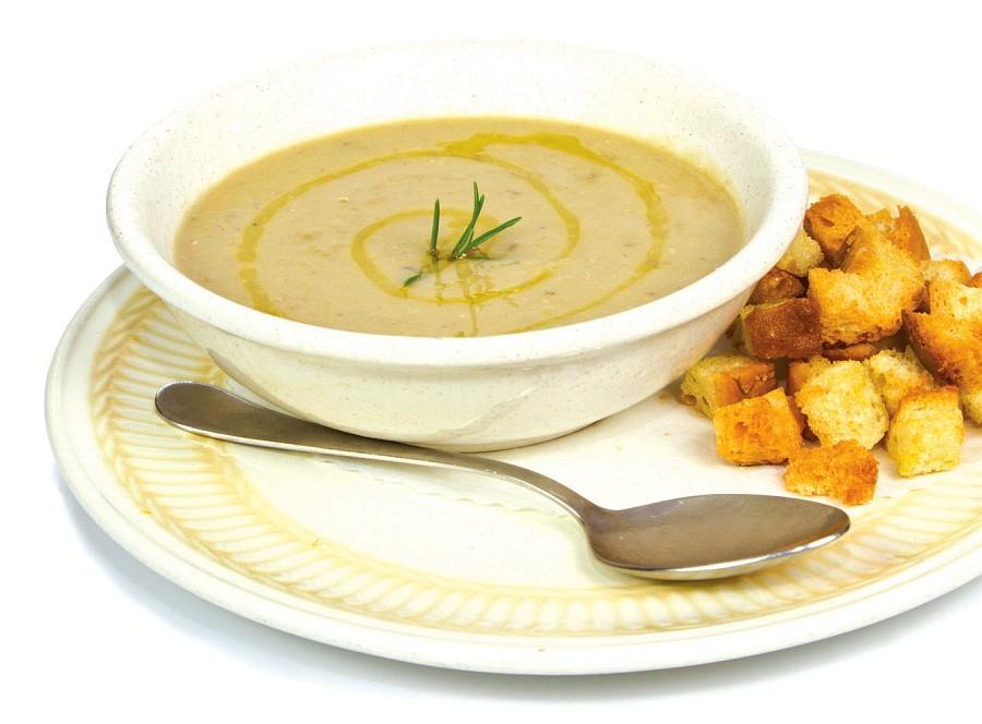 cizrnová polévka krémová