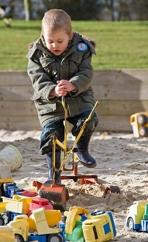 Hry na pískovišti