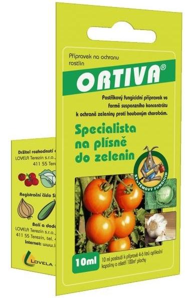 Ortiva - přípravek proti plísním