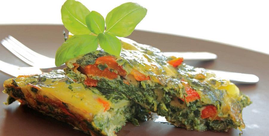omeleta z kopřiv