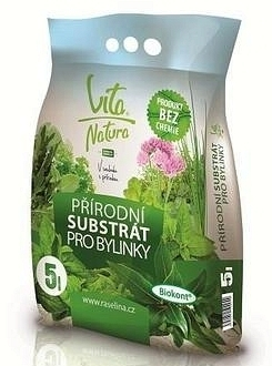 substrát pro bylinky